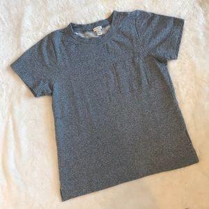 J.Crew Short Sleeve Sweatshirt with Front Pocket